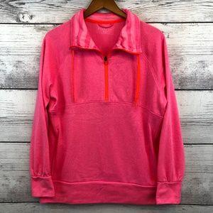 Adidas Climawarm XL Pink Half Zip Sweatshirt